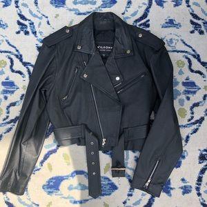Wilson women's leather jacket
